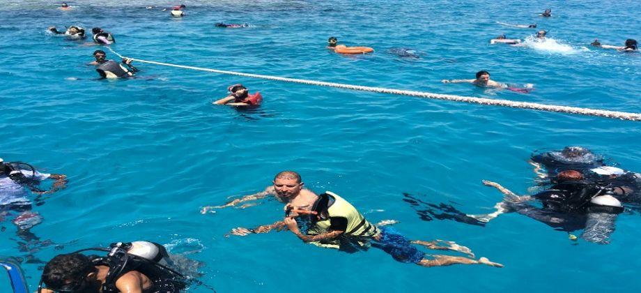 جزيرة تيران، رحلات بحرية علي اليخت شرم الشيخ