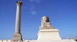 زيارة عمود السواري ومقابر كوم الشقافة والمتحف اليوناني الروماني