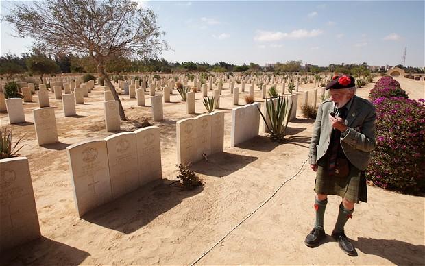 زيارة مقابر العلمين بالاسكندرية